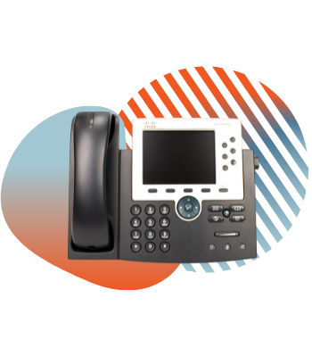 cisco ip phone with pivit branding